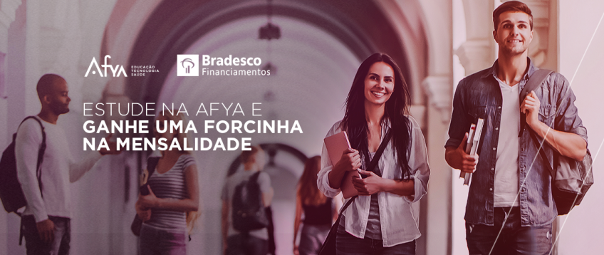 ESTUDE NA AFYA - Financiamento Bradesco